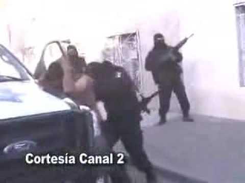 policias federales capturan delincuentes