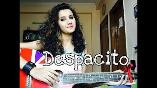 Despacito / Luis Fonsi ft. Daddy Yankee / Female guitar cover
