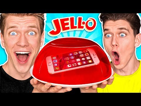 10 FUNNY PRANKS PRANK WARS PHONE IN JELLO Learn How To Make Funny Easy DIY Food & Candy