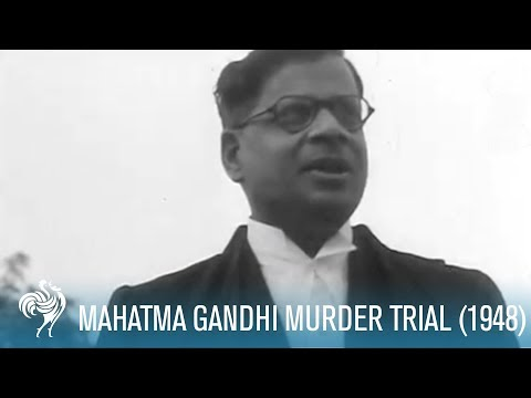 Mahatma Gandhi Murder Trial AKA Gandhi's Assassin's Trial (1948)