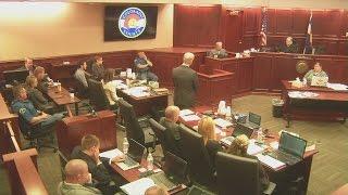 Robert Sullivan testifies about Veronica Moser-Sullivan's life