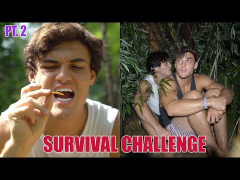 48 HOUR SURVIVAL CHALLENGE PART 2  FACING THE STORM