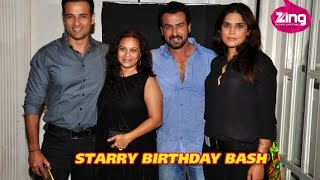Ronit Roy's Birthday Party High On Star Power!