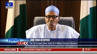 One Year In Office: Buhari Says Insecurity, Corruption Were Inherited