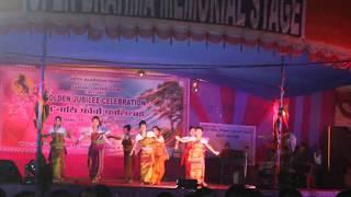 Bodo Dance   Jiri Jiri Bwhwi Langnai - Bagurum Bagurum Boro Shikla    Bwisagu Golden Jubilee -Live