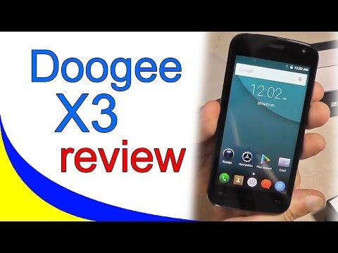 Doogee X3. Обзор ультрабюжетного смартфона.