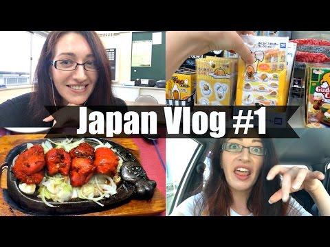 MY FIRST JAPAN VLOG! Driving, Food, Friends & School!