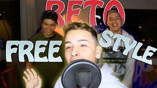 RETO DEL FREE STYLE ft Trueno & Underdaan *Se defiende por su doble tempo* / PaisaVlogs