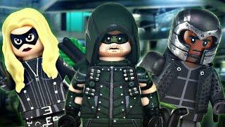 LEGO CW : Green Arrow, Diggle, & Black Canary - Showcase