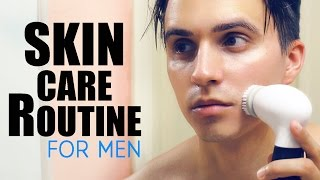 CLEAR SKIN - My Skincare Routine - How to get Clear Face (For Men)