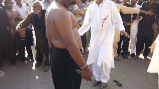 Imran Ali Mani best zanjeer zani 10 muharram ,2016 fsd imam bargah haideria Ameen pur bazar