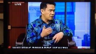TV Talk Show Master Irmansyah Effendi on Secrets of Natural Walking