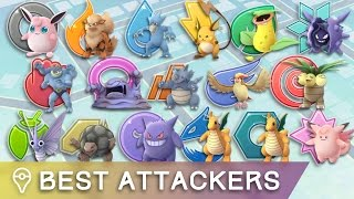 THE BEST ATTACKERS OF EACH TYPE IN POKÉMON GO