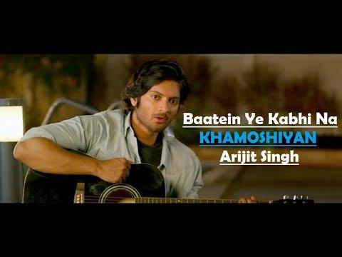 Xxx Mp4 Baatein Ye Kabhi Na Khamoshiyan Arijit Singh Ali Fazal Sapna Pabbi Lyrics Video Song 3gp Sex