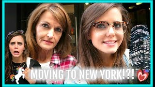 MOVING TO NEW YORK!?! | Tiffany Alvord | (Today At Apple)