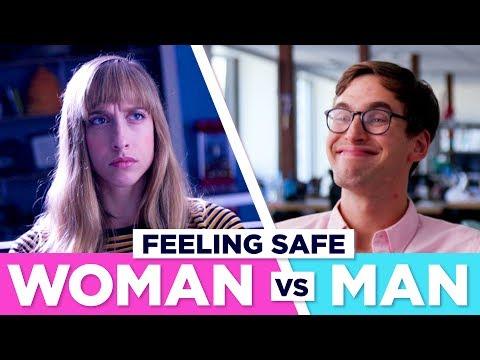 How Being In Public Feels Men VS Women