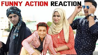 Funny Action Reaction || Shehbaaz Khan Comedy