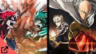 Top 5 Animes Similar to Boku no Hero Academia