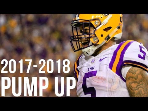 2017-2018 College Football Pump Up ||