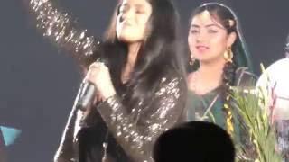 Damia Farooq, Ali Zafar & Parisa Farooq Performing at the 1st International Paces Competition