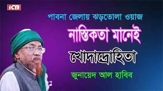 Bangla Waz|বিশ্ব শান্তি প্রতিষ্ঠায় ইসলাম| Mowlana Junaid Al Habib| ICB Digital