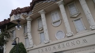 We Went To An Indoor Amusement Park For The Mind?  | Wonder Works Orlando The Upside Down Building