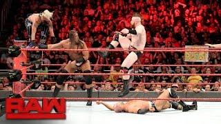 Enzo & Big Cass vs. Cesaro & Sheamus - Raw Tag Team Title No. 1 Contender's Match: Raw, Apr. 4, 2017