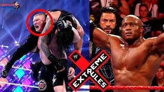 BROCK LESNAR Interfere in ROMAN vs BOBBY?! | WWE EXTREME RULES 2018 HIGHLIGHTS & PREDICTIONS!!! |