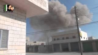 معرة النعمان : \\ برومو \\  عامان من القصف -أقوى المشاهد للقصف على المدينة