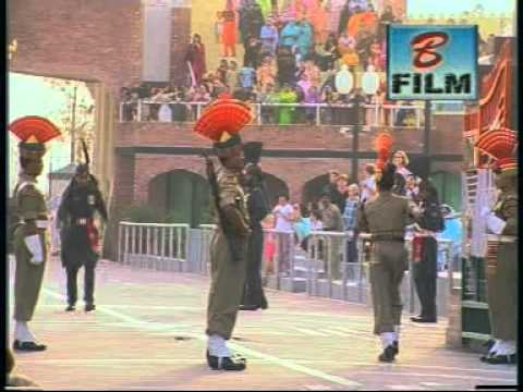 wagha border parade by kishore bonu