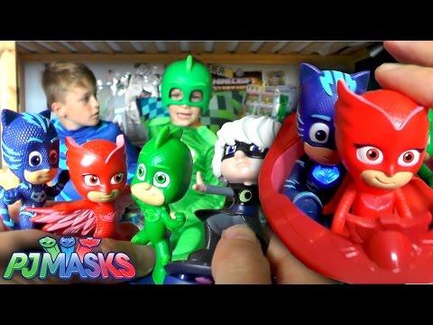 PJ Masks Toy Hunt Surprise - Official Toys Unboxed