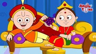 Ek Tha Raja Ek Thi Rani|Pyasa Kauwa & More Best Hindi Songs By JingleToons