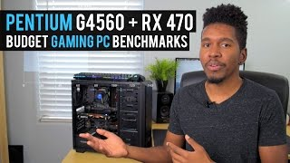 Intel Pentium G4560 BUDGET GAMING PC Build BENCHMARKS - March 2017
