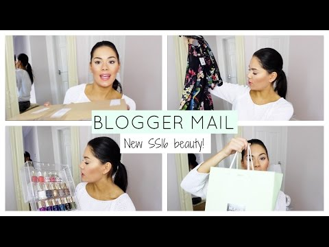Xxx Mp4 BLOGGER MAIL UNBOXING SS16 BEAUTY LAUNCHES Beauty S Big Sister 3gp Sex
