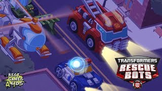 Transformers Rescue Bots: Hero Adventures #27 | 4 RESCUE BOTS Work together! By Budge Studios
