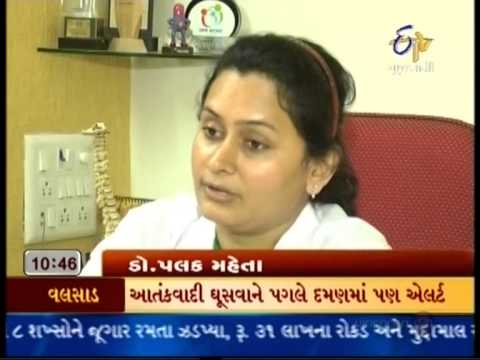 etv gujrati -Dr Palak Mehta ( Director of Pain Care Clinic )