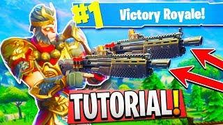 NEW *OVERPOWERED* DOUBLE SHOTGUN TUTORIAL in Fortnite Battle Royale! (New Fortnite Shotgun Update)