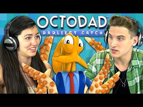 OCTODAD Teens React Gaming