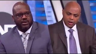 SHAQ GETS SENSITIVE OVER CHARLES BARKLEY RING CHASING TAUNTS