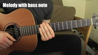 The Last of Us: Left Behind Soundtrack Acoustic Guitar Lesson in Fingerstyle