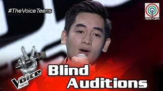 The Voice Teens Philippines Blind Audition: Mike Escutin - Invisible