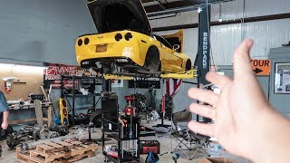Assembling the new Trans and on the Corvette!