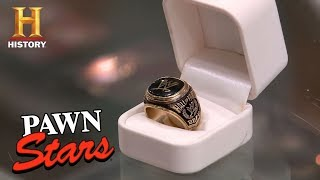 Pawn Stars: Paul Bearer's WWE Hall of Fame Ring | History