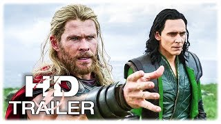 THOR RAGNAROK: New Clips + Trailer (2017) Superhero Movie HD