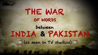 India vs Pakistan: The War In TV Studios