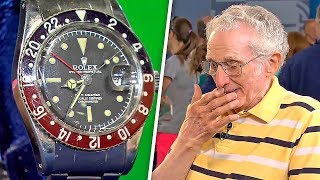 IN 1960 HE BOUGHT A WATCH AND 56 YEARS LATER HE COULDN