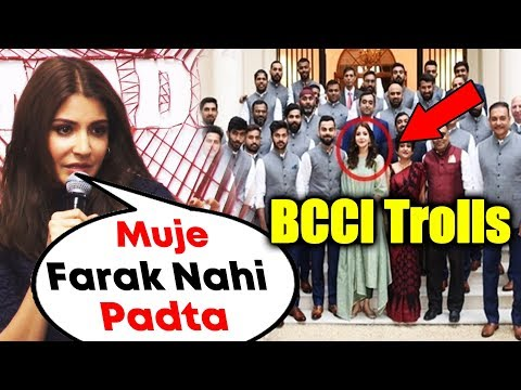 Xxx Mp4 Anushka Sharma Reaction On Being Questioned For Photo With Team India BCCI Controversy 3gp Sex