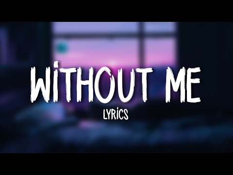 Halsey Without Me Lyrics