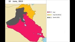 The Iraqi Civil War (jan. 2014 - july 2017) every day