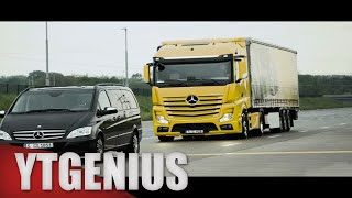 2017 Mercedes Actros Truck - Test Drive